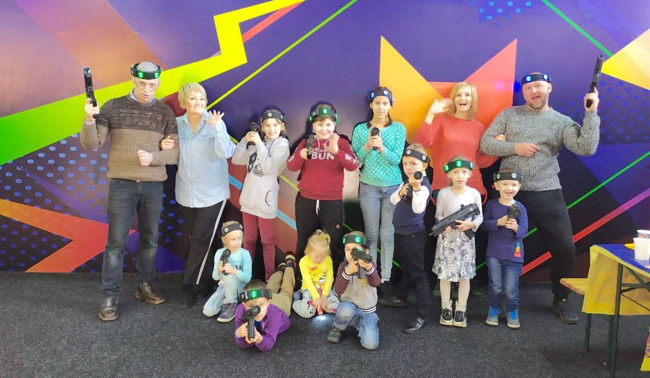 Лазертаг в Виннице - Развлечения для всей семьи